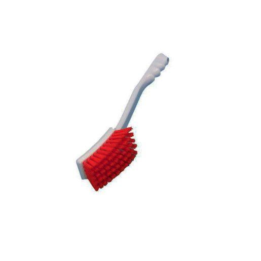 DI Churn Brush Hard Long - Perie rosie pentru suprafete neuniforme