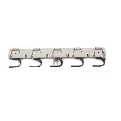 DI Equipment Border- Suport de perete pentru ustensile alb