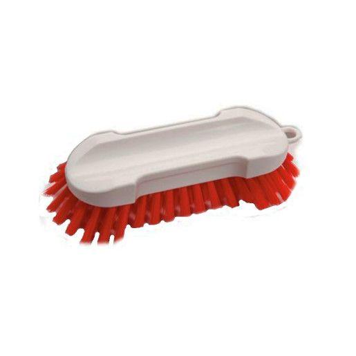 DI Hand Scrub Brush Hard-  Perie dura pentru curatare manuala rosie