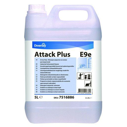 Attack Plus - Detergent industrial profesional, puternic pe bază de solvenţi 5L