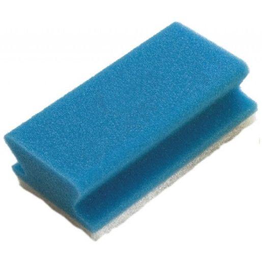 Burete vase profesional neabraziv albastru Taski