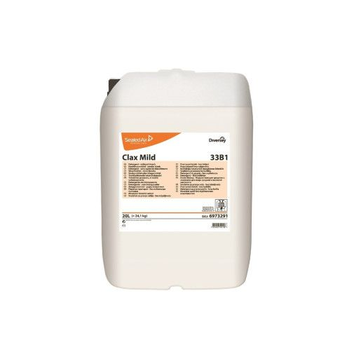 Clax Mild 33B1   20L - Detergent lichid enzimatic pentru spalarea tuturor tipurilor de tesaturi