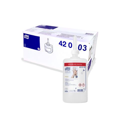 Dezinfectant gel pentru maini Tork, pe bază de alcool, 1000 ml