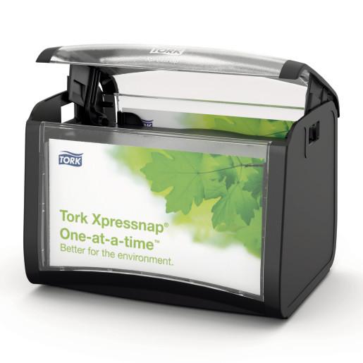 Dispenser servetele de masa Tork, negru
