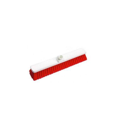 DI Scrubber Hard Red 400 - Perie de podea, dura rosie 40cm