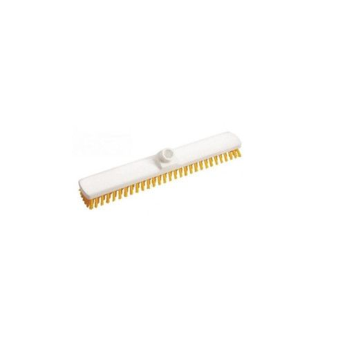 DI Scrubber Hard Yellow 400 - Perie de podea, dura galbena 40cm