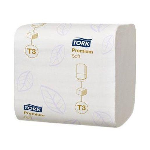 Hartie igienica pliata Tork premium, 114273