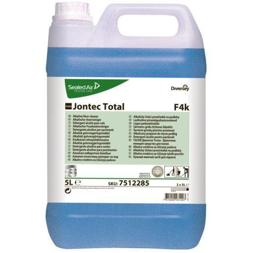 Detergent alcalin pentru pardoseli, destinat curăţărilor grele TASKI Jontec Total  5L