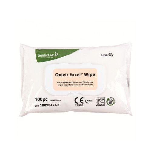 DI Oxivir Excel Wipe - Servetele dezinfectante