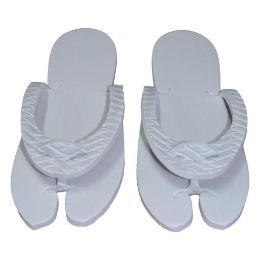 Papuci dama pentru SPA sau piscina albi