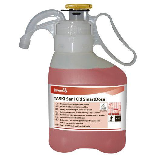 Detergent profesional concentrat grupuri sanitare, bai TASKI Sani Cid Pur-Eco SD 1.4L