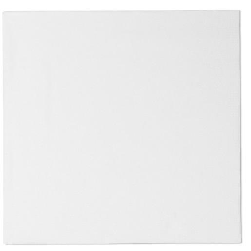 Servetele de masa Tork albe, 2 straturi, 200 bucati / pachet, 32x32 cm