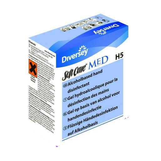 Soft Care MED H5 - Gel alcoolic dezinfectant 0.8L