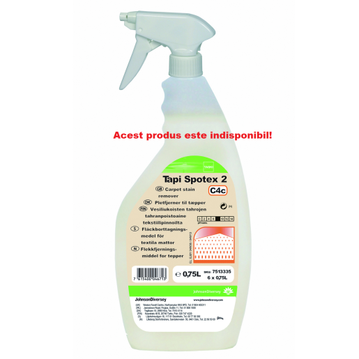 Solutie profesionala pentru indepartarea petelor de pe covoare TASKI Spotex Tapi 2  0.75L