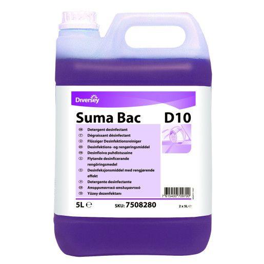 Suma Bac D10 - Detergent dezinfectant concentrat 5L
