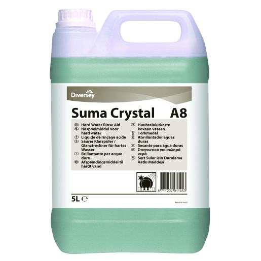 Suma Crystal A8 - Detergent pentru clatire 5L