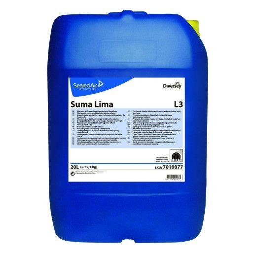 Suma Lima L3 20L - Detergent cu efect de albire pentru spalarea vaselor din portelan si sticla