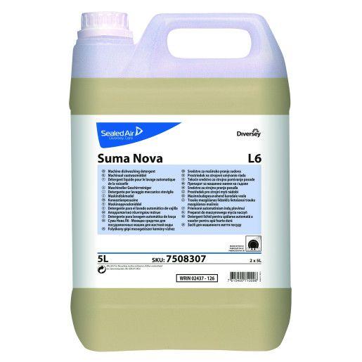 Detergent profesional concentrat pentru vase Suma Nova L6  5L