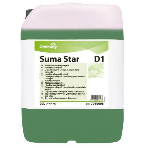 Suma Star D1 - Detergent lichid concentrat manual pentru vase profesional 20L