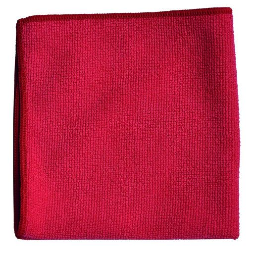 TASKI MyMicro Cloth - Lavete microfibra 36x36cm, rosii