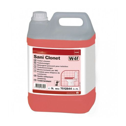 Detergent detartrant profesional grupuri sanitare TASKI Sani Clonet  5L