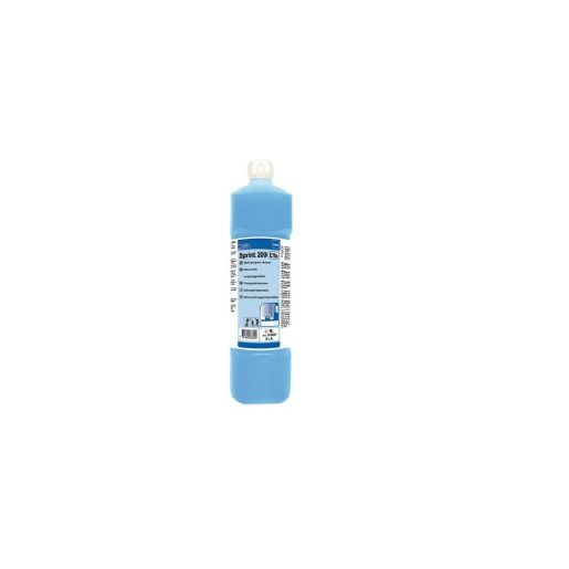 TASKI Sprint 200 - Detergent profesional pe bază de alcool, multifuncţional concentrat, pentru suprafeţe lavabile 1L