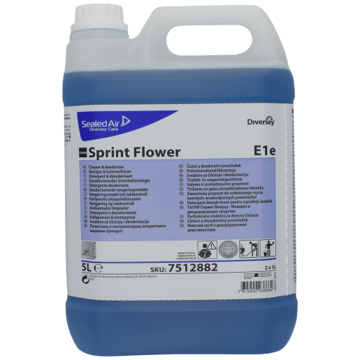 TASKI Sprint Flower- Detergent si dezodorizant 5L