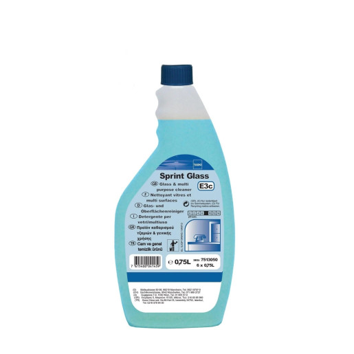 TASKI Sprint Glass - Detergent profesional geam si suprafete multiple 0.75L