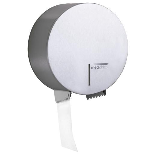 Dispenser de hartie igienica rolă Jumbo 400m din inox satinat