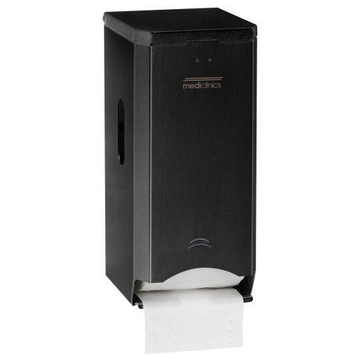 Dispenser hartie igienica cu 2 role din inox