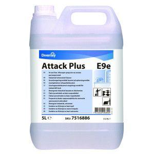 Detergent industrial profesional, puternic pe bază de solvenţi Attack Plus
