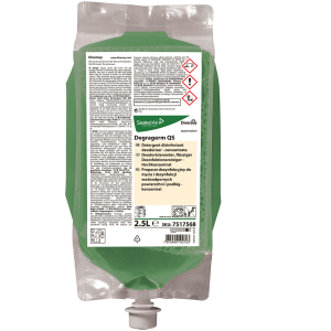 Degragerm QuattroSelect Detergent - dezinfectant si dezodorizant lichid concentrat pentru igienizarea suprafetelor si a pardoselilor lavabile