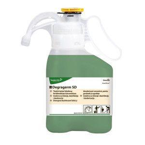 Detergent - dezinfectant si dezodorizant lichid concentrat pentru igienizarea suprafetelor si a pardoselilor lavabile TASKI Degragerm SD 1.4L