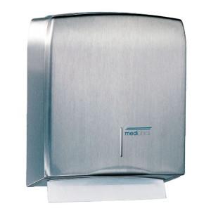 Dispenser prosoape pliate din inox satinat
