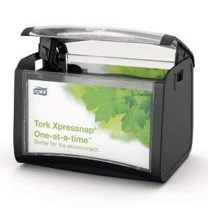 Dispenser servetele de masa Tork, negru