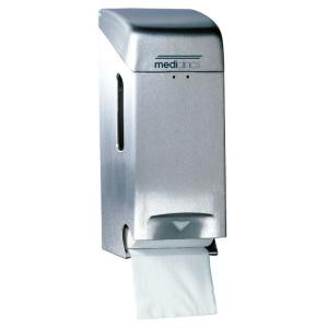 Dispenser de hârtie igienică 3 role inox satinat