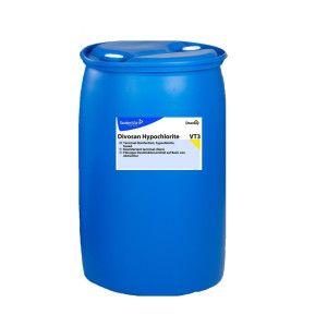 DI Divosan Hypochlorite - Dezinfectant oxidant bazat pe hipoclorit de sodiu pentru utilizarea in industria alimentara, a bauturilor si a produselor lactate 950L