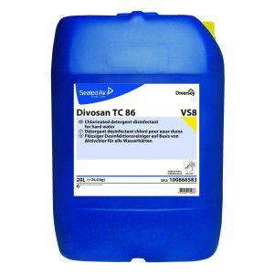 DI Divosan TC 86 - Detergent dezinfectant spumant clorurat pentru apa tare 20L