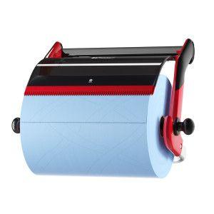 Dispenser perete lavete industriale negru Tork