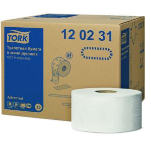 Hartie igienica mini jumbo profesionala Tork, 2 straturi, 170m