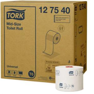 Hartie igienica Tork universal, mini jumbo, 135m, 1 strat