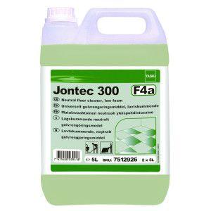 Detergent neutru pentru pardoseli, cu spumare redusă Taski Jontec 300  5L