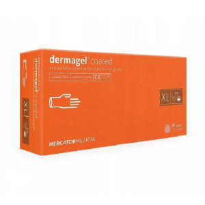 Manusi nepudrate latex Dermagel XL