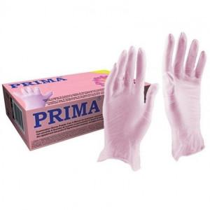 Manusi examinare nitril nepudrate roz XS