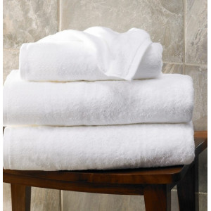 Prosop alb fara model 70x140 cm, 650 gr
