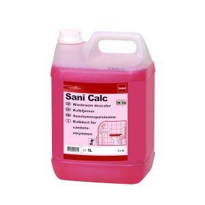 Detartrant puternic profesional pentru grupuri sanitare, baie TASKI Sani Calc 5L