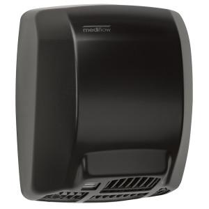 Uscator de maini Mediclinics Mediflow otel negru cu senzor 2750 W