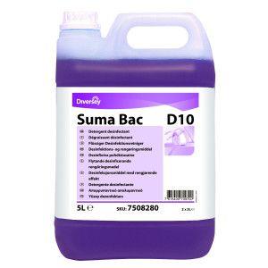 Detergent dezinfectant concentrat Suma Bac D10  5L