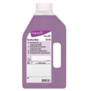 Suma Bac D10 - Detergent dezinfectant concentrat 2L