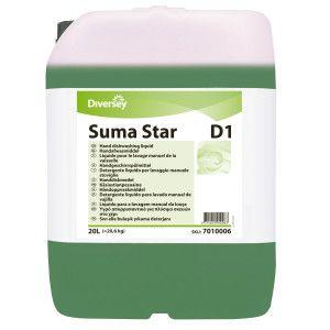 Detergent lichid concentrat manual pentru vase profesional Suma Star D1 20L
